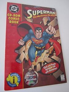 Superman-The Mysterious Mr. Mist-CR-Rom Comic Book-DC Comics-Sealed
