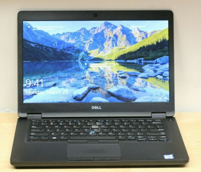 Dell Latitude 5480 - i5-7300U@2.6GHz, 8GB RAM, 250GB SSD, Windows 10 Pro