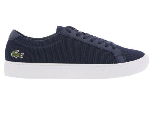 Lacoste L.12.12 BL 2 CAM Navy Textile Mens Trainer Shoe Size 7.5-9.5 New RRP £90