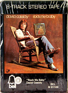 DAVID-CASSIDY-Rock-Me-Baby-NEW-SEALED-8-TRACK-CARTRIDGE
