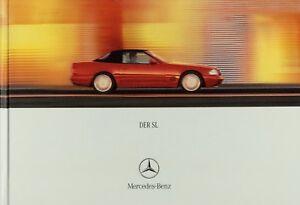 Mercedes-SL-Prospekt-2000-5-00-R-129-280-320-500-600-brochure-prospectus-catalog
