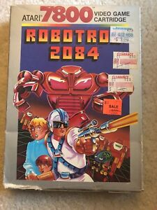 Robotron-2084-NEW-COMPLETE-BOX-Atari-7800-Not-Sealed-But-NIB