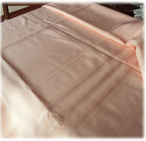 Image Is Loading Peach Coral Linen Tablecloth 30 X 76 Rectangular