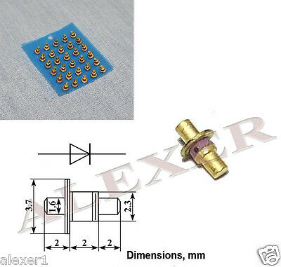 2x  2D524A Russian Microwave Step Recovery  Diode 100GHz