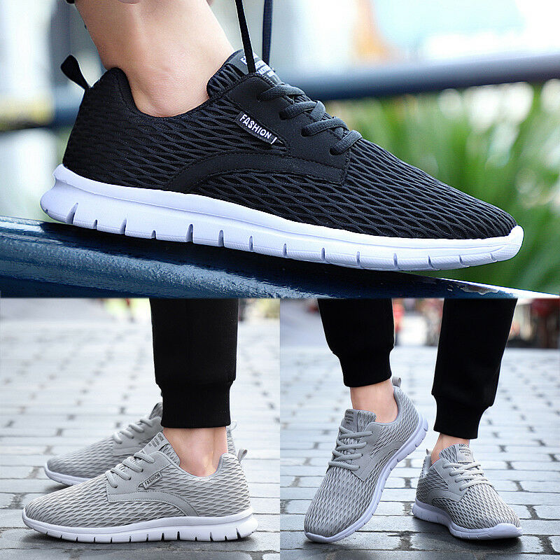 Men's Trainers Casual Breathable Sport Running Shoes Sneakers  Athletic Outdoor Shoes Running 03cf0c