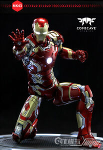 1-12-Comicave-Diecast-Age-of-Ultron-Iron-Man-MK43-Alloy-Figure-Model-6-039-039-Doll