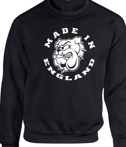 Made In England Patriotic Sweatshirt Bulldog English Proud To Be T-Shirt