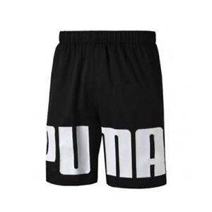 Puma Rebel Woven Mens Black White