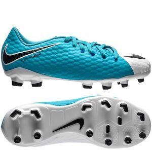 Promozione delle vendite costo moderato enorme sconto Details about Nike Hypervenom Phelon III FG 2017 Nike Skin Soccer Shoes  Powder Blu Kids Youth