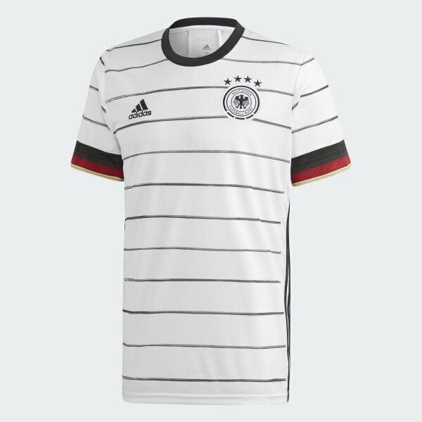 Adidas DFB Heim Trikot EM2020 Kinder weiss EH6103 EURO 2020