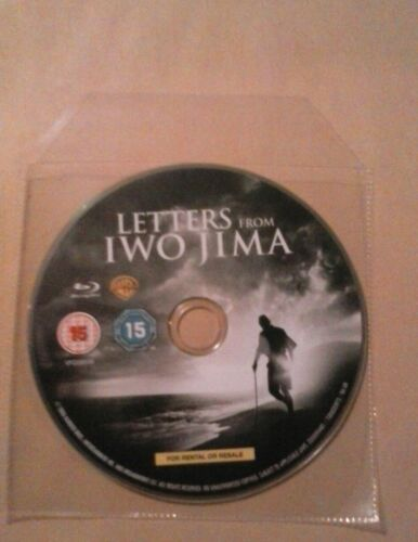 1 of 1 - Letters From Iwo Jima (Blu-ray, Disc only) Brand New.