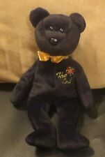 Buy Ty Beanie Baby The End 1999 Y2k Millennium Teddy Bear MWMT ... a51de435edf