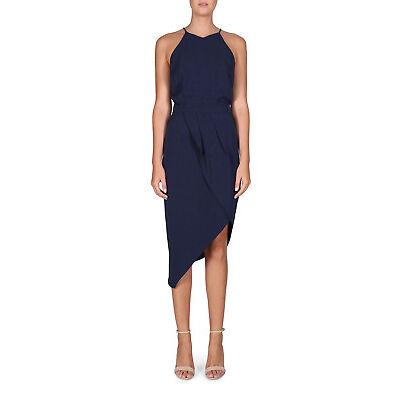 NEW Cooper St Riverside Drape Dress Ink