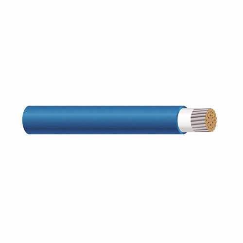 56976101 2 AWG 1C Stranded blueeee Cotton Braid Unshield TelcoFlex III Cable
