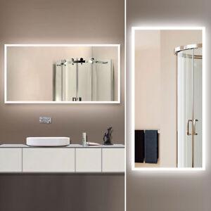 Lighted Vanity Mirror.Details About Led Bathroom Wall Mirror Illuminated Lighted Vanity Mirror With Infrared Sensor