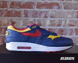 Details about NIKE AIR MAX 1 PREMIUM SNOW BEACH NAVY LIMITED POLO SIZE 875844 403