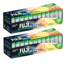 96-Pack Fuji EnviroMAX Super Alkaline AA Eco Friendly Batteries