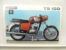1974 OMZ TS250 TS150 Brochure With Specifications L9400