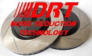 Fits G37 Coupe Base Slotted Brake Rotors Noise Reduction