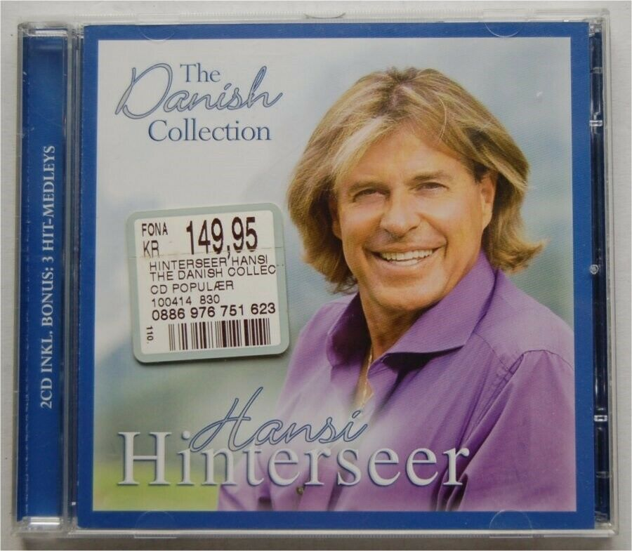 HANSI HINTERSEER: 2 CD The Danish Collection , pop