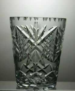 CUT-GLASS-CRYSTAL-VASE