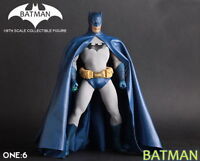 1/6TH Crazy Toys Collectible Batman Action Figure Statue Model Doll Blue