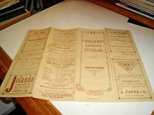 Conciertos-Cafe-039-Cerveceria-Italia-Palermo-Programa-Original-6-Julio-1923