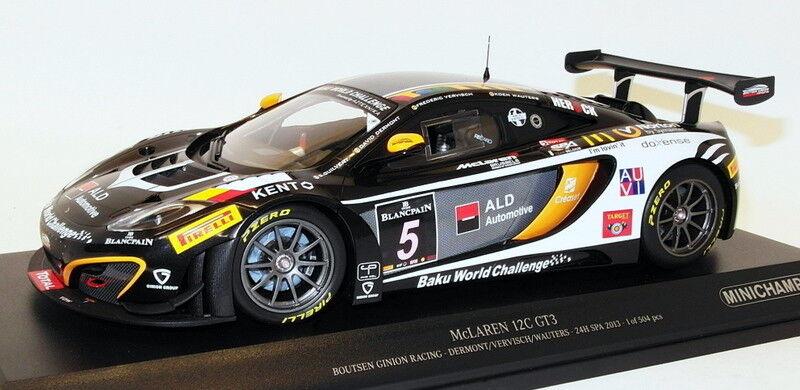 MINICHAMPS 1 18 Scale 151 131305-McLaren 12 C GT3 BOUTSEN GINION RACING