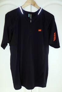 Helly-Hansen-Men-039-s-Trailwizard-Short-Sleeve-Tee-48094-990-Black-Size-XL