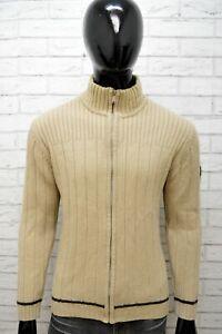 Cardigan-Maglione-Uomo-GAS-Taglia-L-Pullover-in-Lana-Maglia-Felpa-Sweater-Man