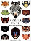 Animal Faces: 15 Punch-Out Animal Masks by Pierre-Marie Valat (Paperback / softback, 2007)