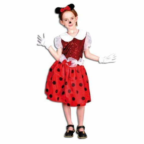 MOUSE GIRL MINNIE STYLE FANCY DRESS COSTUME