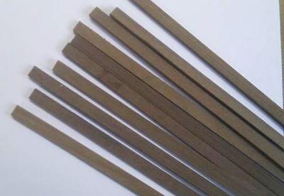 Quality Walnut Stripwood 1.5mm x 1.5mm x 457mm Bundle of 50 Strip Wood W//ST15X5