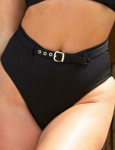 Pour Moi Sol Beach High Waist Control Bikini Brief Bottoms 17305 Womens Swimwear