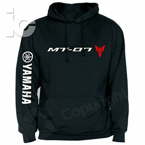 Sweat-Shirt-Yamaha-MT-07-Nu-Racing-City-Diapason-Strada-a-Capuche-Piste-Series