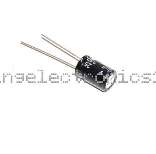 50PCS Electrolytic Capacitor 100//220//330//470//680//820//1000//3300uF 25V 16V 50V 10V