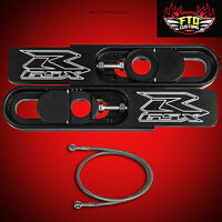 Gsxr 600 Swingarm Extensions 06/09 And 36 Brake Line