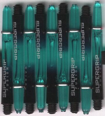 Harrows SuperGrip Fusion X Blue INB Dart Shafts