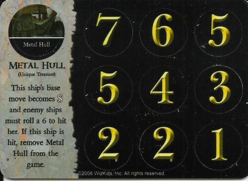 103 METAL HULL PIRATES OF MYSTERIOUS ISLANDS