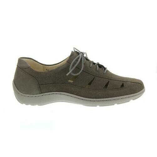 Waldläufer Henni, Pro-Aktiv Padded Sole, Pietra (Grey), Width H 496020-191-088