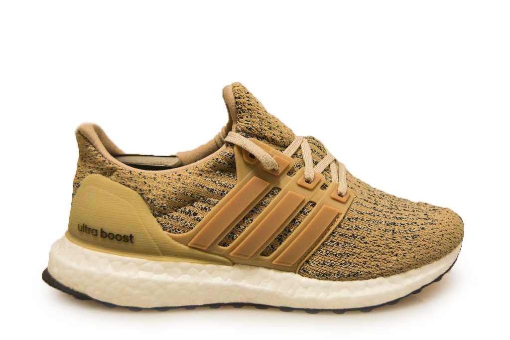 Mens Adidas Ultra BOOST - CG3039 - Khaki Trainers