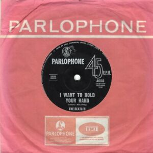 THE-BEATLES-I-Want-To-Hold-Your-Hand-Original-1963-Australian-7-034-vinyl-single