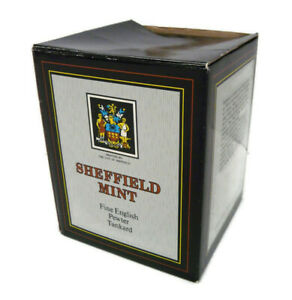 Sheffield-Mint-Mug-Fine-English-Pewter-Tankard-11099-New-in-Box-Made-in-England
