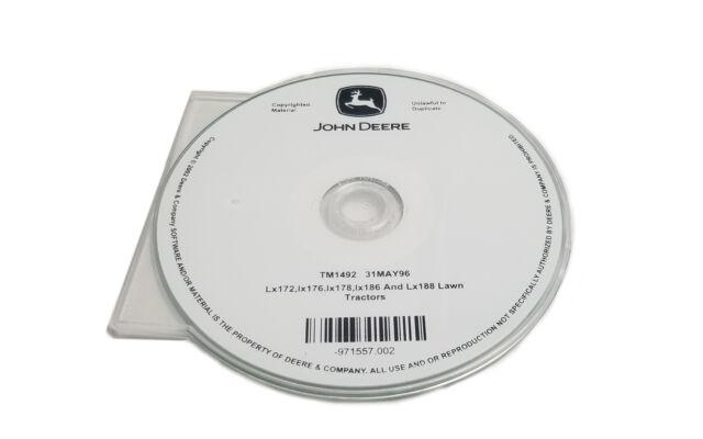 John Deere Lx172 Lx173 Lx176 Lx178 Lx186  U0026 Lx188 Service