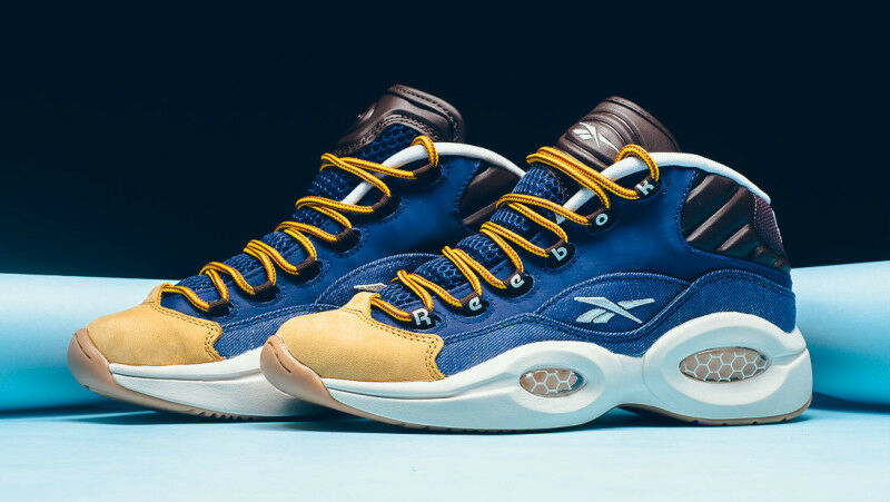 {AR0252} Men's Reebok Question In Mid Dress Code *New In Question Box* 205a16