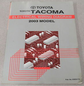 details about 2003 toyota tacoma electrical wiring diagram service manual 97 tacoma wiring schematic 2003 toyota tacoma electrical wiring diagram #12