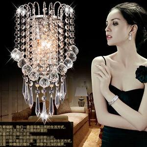 Moderno-K9-Cristal-Aplique-Pared-candelabro-lampara-de-entrada-Accesorios-8885HC