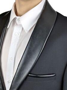 dc235aecd5 Das Bild wird geladen Sakko-Herren-Bruno-Banani-Schwarz-Marken-Anzug-Jacke-