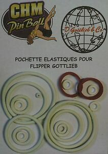 Pochette D'elastiques Pour Flipper Gottlieb Stargate