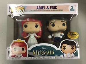 Disney-Treasures-Ever-After-Funko-Pop-Little-Mermaid-Ariel-amp-Eric-New-Exclusive